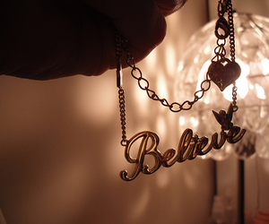 believe and necklace image