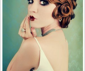 vintage, makeup, and 20s image