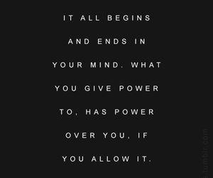 black, message, and mind image