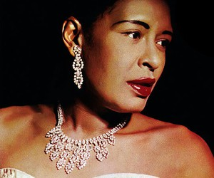 1950s, billie holiday, and blues image
