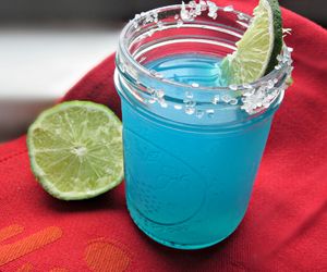 aqua, drink, and lime image