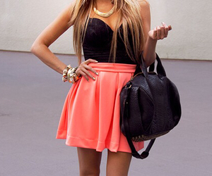 black, girly, and jewelry image