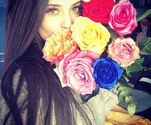 antonia, flowers, and rose image