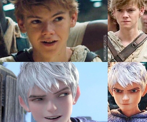 jack frost, maze runner, and newt image