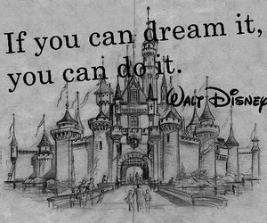 disney, Dream, and walt disney image
