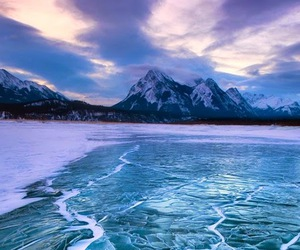 canada, abraham lake, and clearwater county image