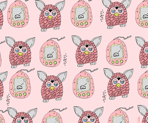 furby, girls, and pink image