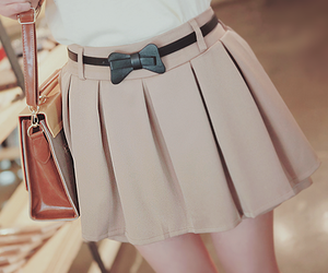 fashion, skirt, and kfashion image