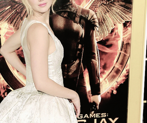 beautiful, Jennifer Lawrence, and the hunger games image