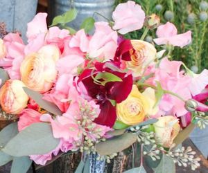 bouquet, girly, and pink image