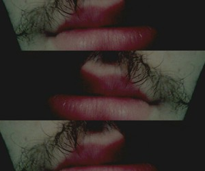 labios, red, and love image