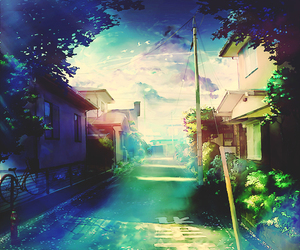 anime and nature image