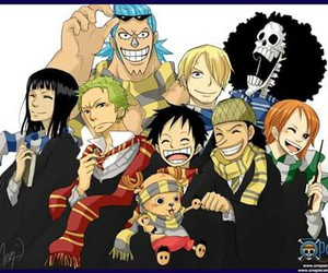 harry potter and one piece image