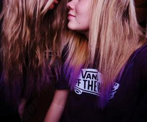friendship, love, and dip dye image