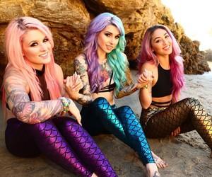 mermaid and girl image