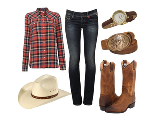cowboy, fashion, and outfit image