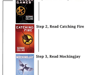 book, the hunger games, and girl on fire image