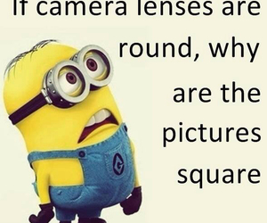 camera, lenses, and round image