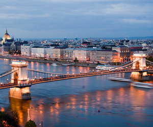 budapest, city, and beautiful image