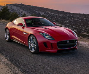 coupe, jaguar, and sports car image