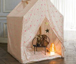 kids room and tipi image