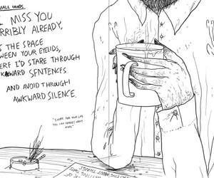 keaton henson, art, and drawing image