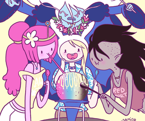 marceline, adventure time, and ice queen image