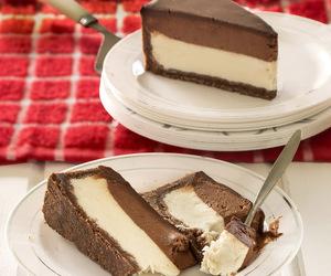 chocolate, cake, and cheesecake image