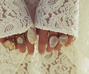 girl, ring, and fashion image