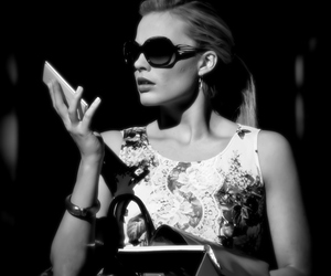 black and white, classy, and diva image