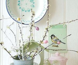 vintage, bird, and decor image