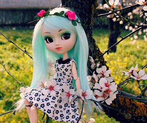 almond, pullip, and spring image