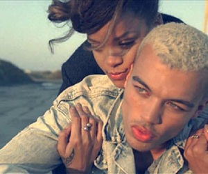rihanna, dudley, and we found love image