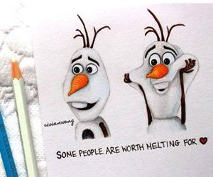 olaf, draw, and picture image