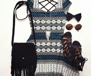 fashion, dress, and look image