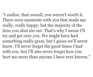 quote, sad, and i deserve better image