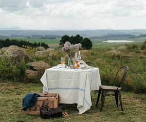 picnic, nature, and romantic image