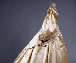dress, elegant, and satin image