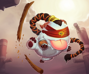league of legends, poro, and lee sin image