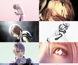 final fantasy, hope, and lightning image