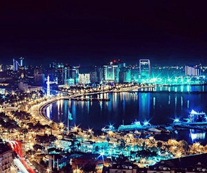 city, azerbaijan, and modern image