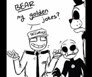 marionette, mike, and pun image