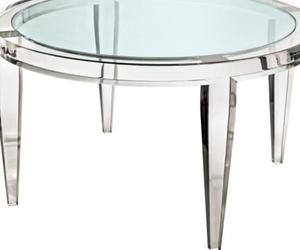 coffee table, round coffee table, and round glass coffee table image