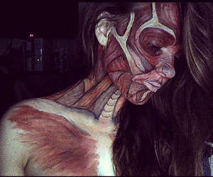 body art, body paint, and face paint image