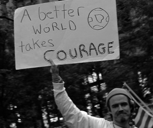 better, courage, and text image