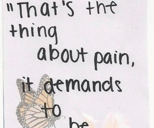 quote, pain, and the fault in our stars image