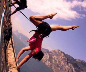 adventure, climb, and climbing image