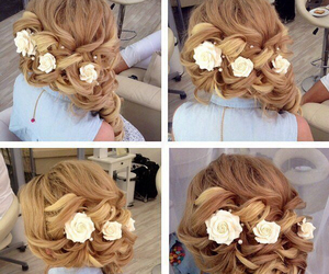 chic, fashion, and hairstyle image