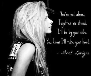 Avril Lavigne, Avril, and keep holding on image