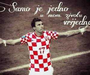 Croatia, hrvatska, and mario mandzukic image